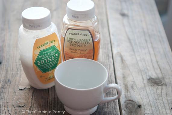 Clean Eating Honey Milk