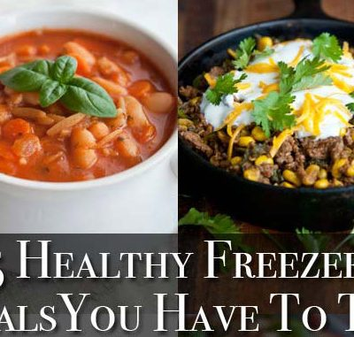 5 Clean Eating Freezer Meals From My Latest Cookbook!