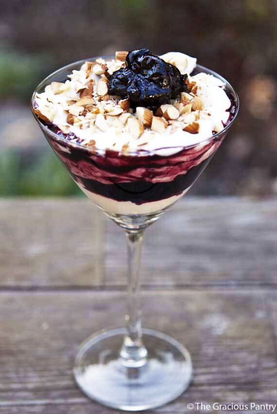 Clean Eating Cherry Compote For Parfaits