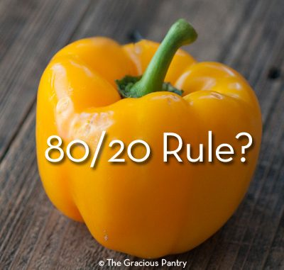 The Clean Eating 80/20 Rule