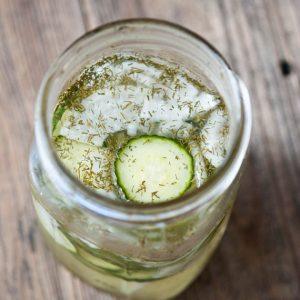 Clean Eating Refrigerator Pickles