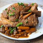 10 Hour Slow Cooker Clean Eating Pork Roast