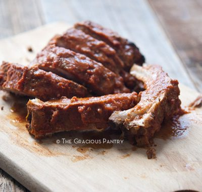 Clean Eating Slow Cooker Baby Back Ribs Recipe