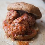 Clean Eating Spaghetti Meatball Sandwiches