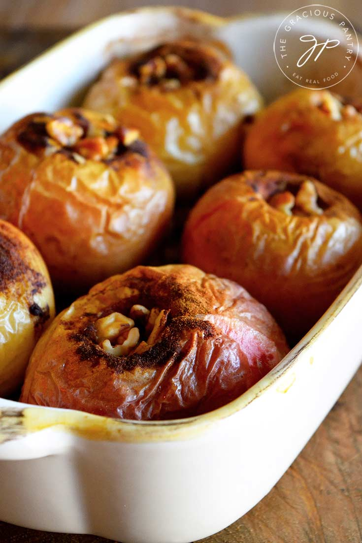 Baked Apples Recipe The Gracious Pantry Healthy Dessert Recipes