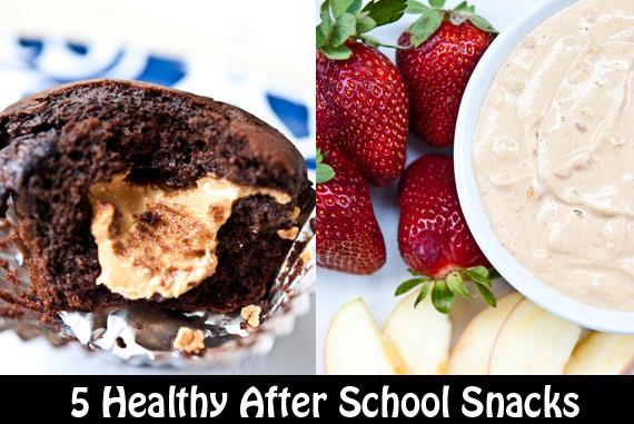 5 Healthy After School Snacks