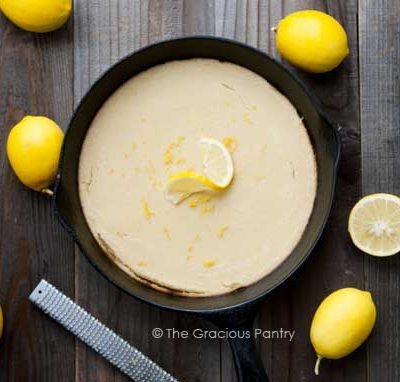 Clean Eating Paleo Lemon Pancakes Recipe