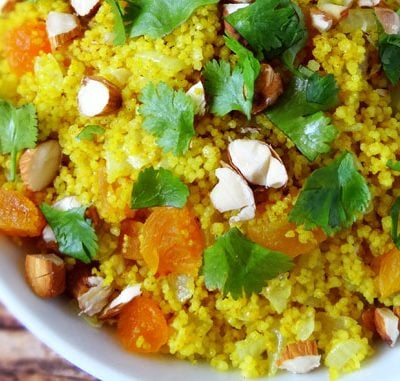 Clean Eating Moroccan Apricot Couscous Recipe