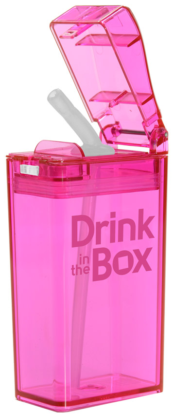 Drink in the Box Reusable Juice Box