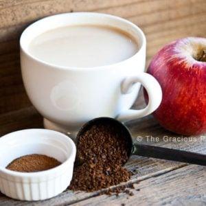 Clean Eating Apple Pie Spice Latte Recipe