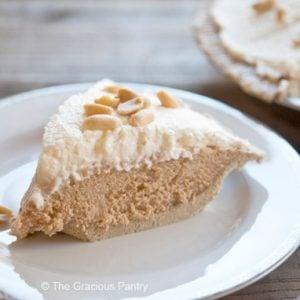 Clean Eating Peanut Butter Pie Recipe