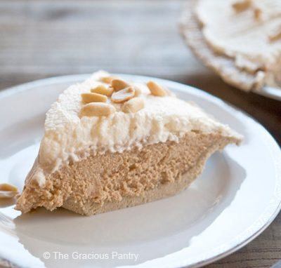 Clean Eating Peanut Butter Pie Recipe