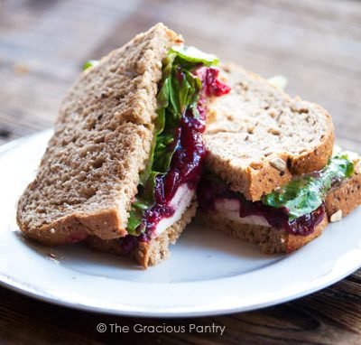 Clean Eating Traditional Leftover Turkey Sandwich