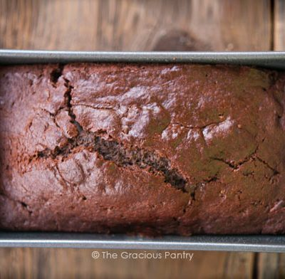 Clean Eating Mint Chocolate Mini Loaf Recipe