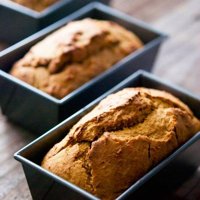 Clean Eating Mini Pumpkin Banana Bread Recipe
