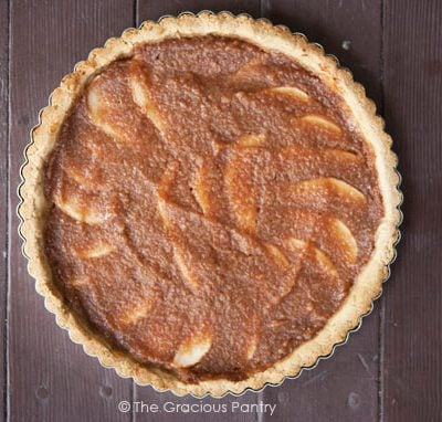 Clean Eating Pear & Apple Tart Recipe