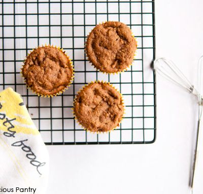 Clean Eating Butternut Squash & Apple Muffins Recipe