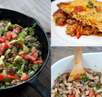 10 Clean Eating Recipes You Can Make With A Pound Of Ground Turkey