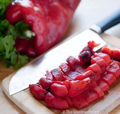 How To Fire Roast A Pepper