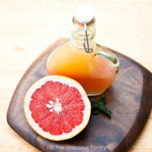 Clean Eating Grapefruit Vinaigrette Recipe