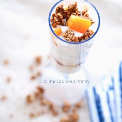 Clean Eating Orange Supreme Parfait Recipe