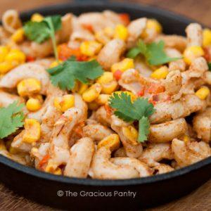 Clean Eating Fiesta Macaroni Salad Recipe