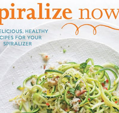 Spiralize now!!! Cookbooks Giveaway
