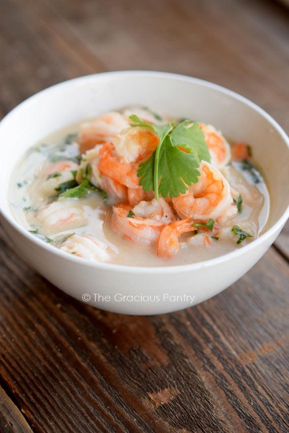 Clean Eating Thai-Style Shrimp Recipe