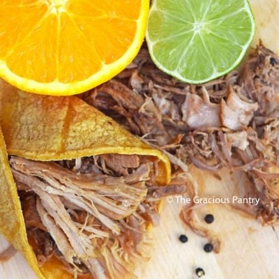 Clean Eating Slow Cooker Carnitas Recipe (Whole30)