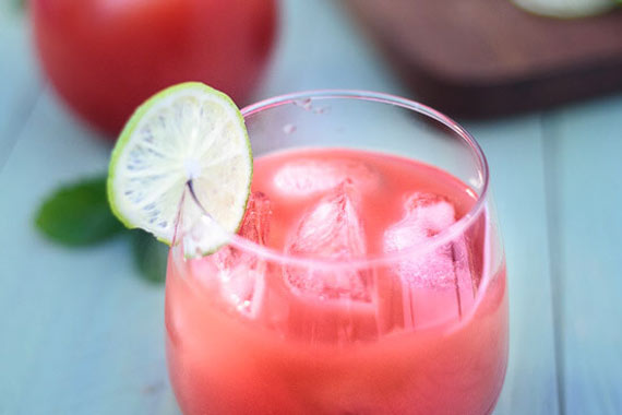 Watermelon Limeade Punch – This amazing beverage has the option of ...