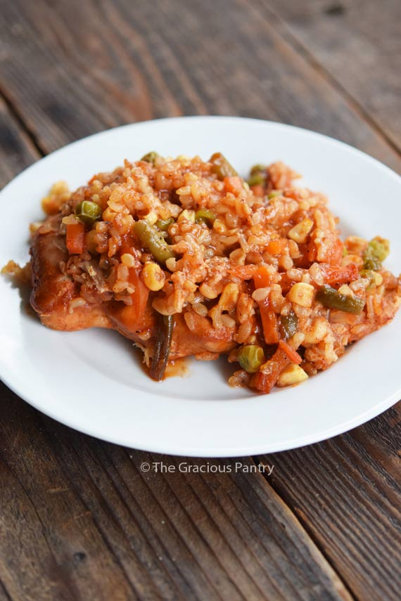 Clean Eating Barbecue Chicken Casserole Recipe