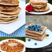 Clean Eating Waffles And Pancake Recipes Collection