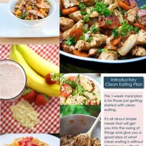 The Intro To Clean Eating Meal Plan
