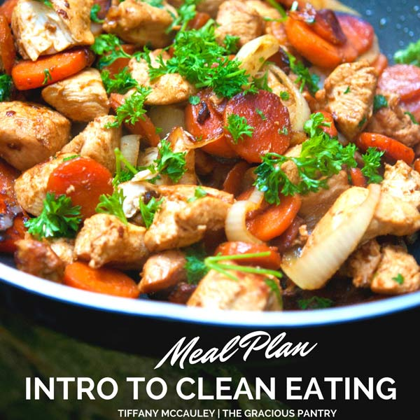 Intro To Clean Eating Meal Plan 1