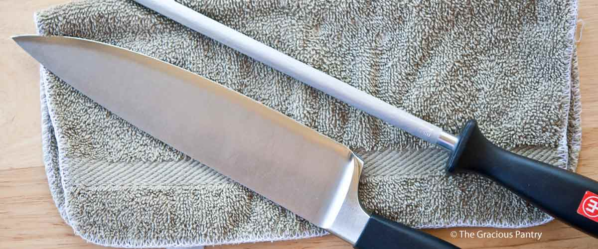 How To Hone Your Kitchen Knives