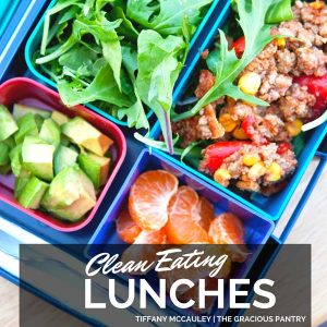 Clean Eating Lunches eBook