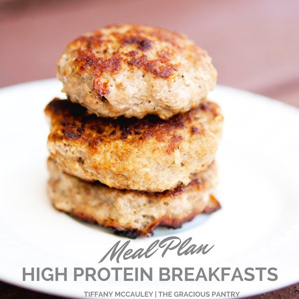 High Protein Breakfasts Meal Plan 1