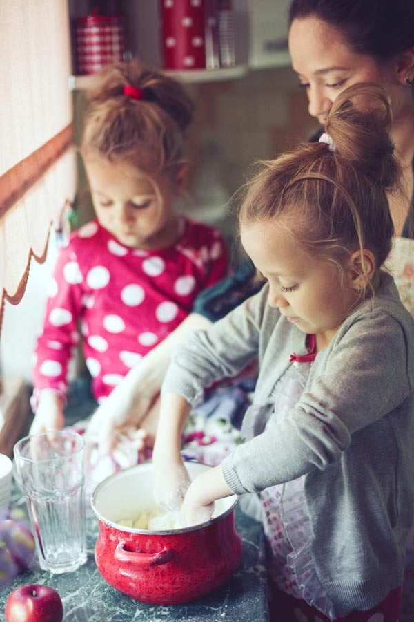 Teaching kids to cook is imperative. It teaches cooperation, togetherness and respect for food and the world around them.
