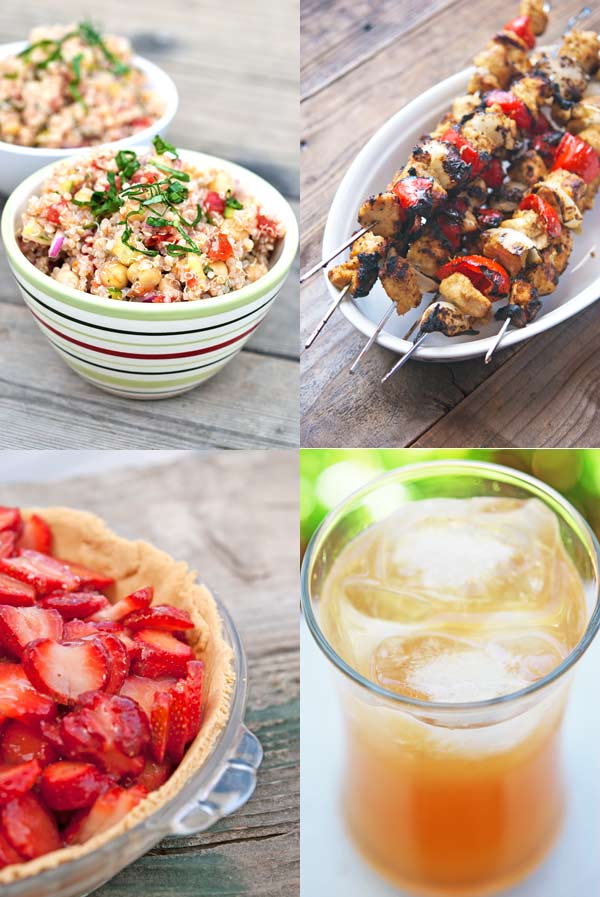 Clean Eating Summer Recipe Roundup - Recipes From Clean Eating Food Bloggers