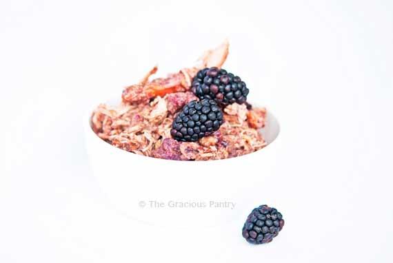 Clean Eating Slow Cooker Balsamic Blackberry Chicken Recipe