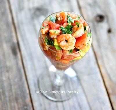 Clean Eating Shrimp Campechana Recipe