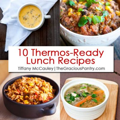 10 Clean Eating Thermos-Ready Lunch Recipes