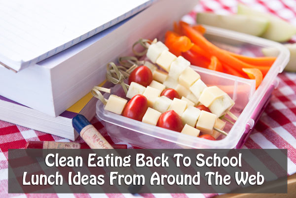 Clean Eating Thursday Recipe Linkup – Back To School Lunches