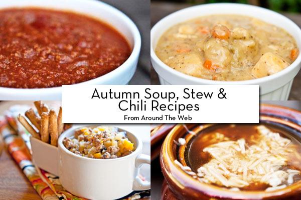 Clean Eating Thursday Recipe Linkup – Autumn Soups, Stews & Chili!