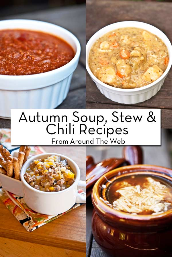 Clean Eating Thursday Recipe Linkup - Autumn Soups, Stews & Chili!