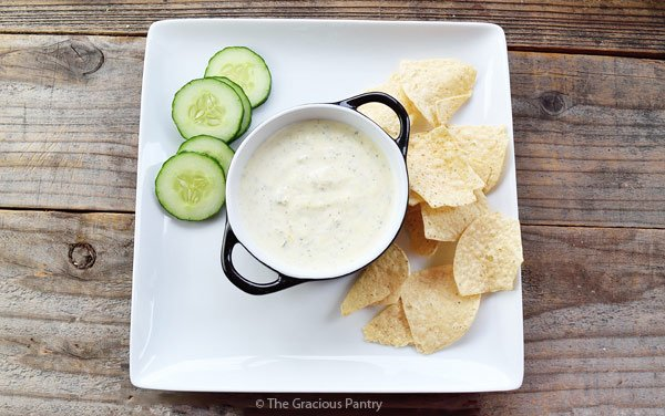 Clean Eating Onion Dip Recipe