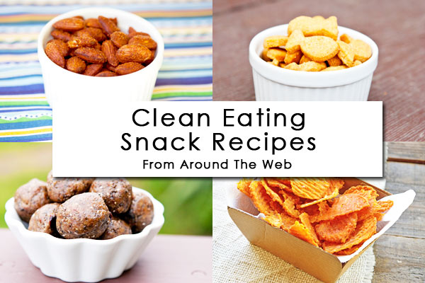 Clean Eating Thursday Recipe Linkup – Back To School Snack Recipes