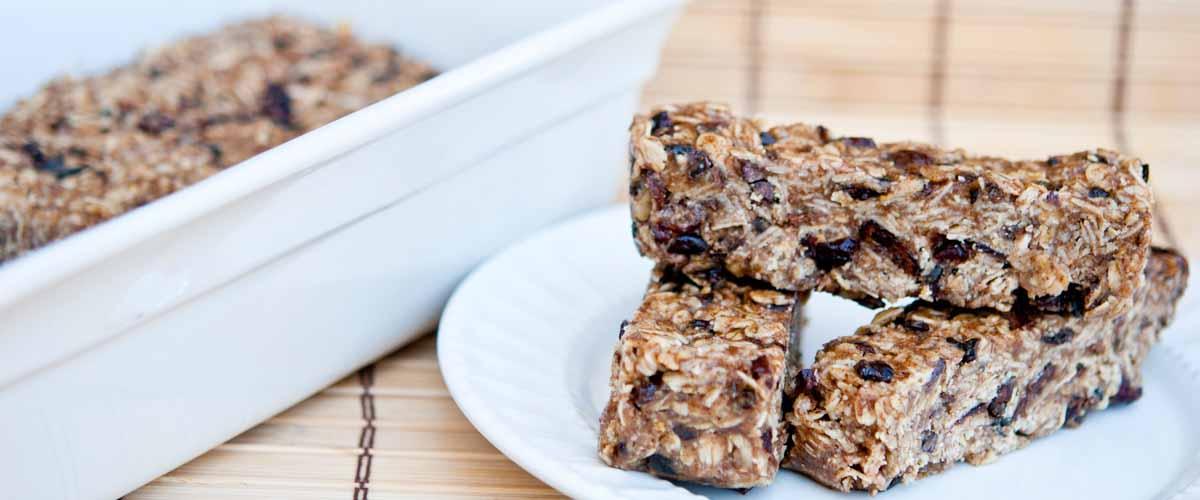 Clean Eating No Bake Granola Bars Recipe