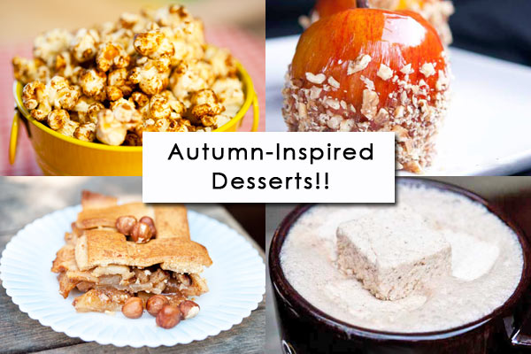 Clean Eating Thursday Recipe Linkup – Fall Desserts