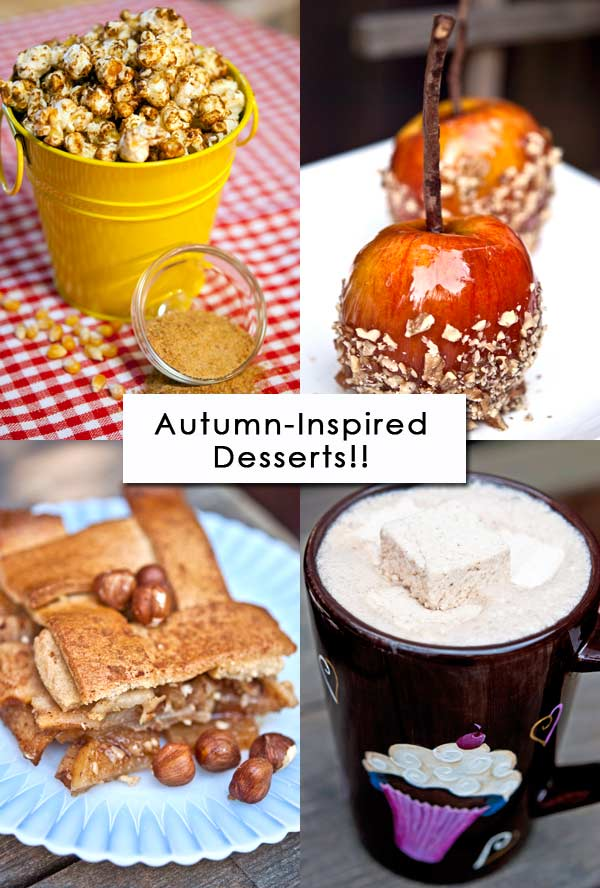 Clean Eating Thursday Recipe Linkup - Fall Desserts